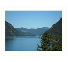 Achen Lake Art Print