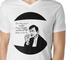 Musings of a Cigarette Smoking Man Mens V-Neck T-Shirt