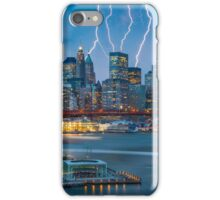 Lightning In Gotham iPhone Case/Skin