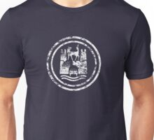 Wolfsburg Logo (Distressed - White) Unisex T-Shirt