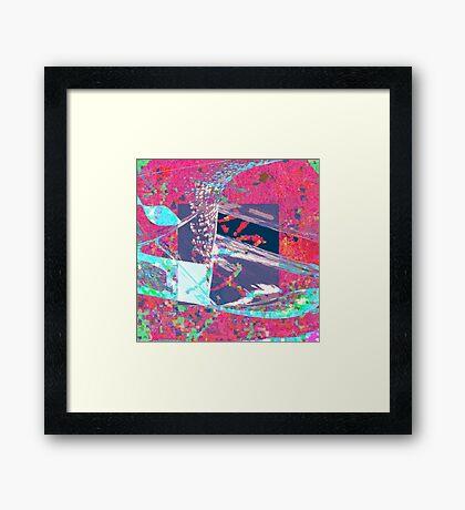 PC Wav. Framed Print