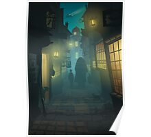 Diagon Alley Poster