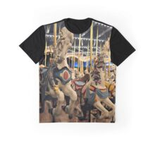 Round & Round like a Horse on a Carousel Graphic T-Shirt