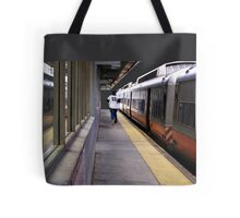 Late For A Train Tote Bag