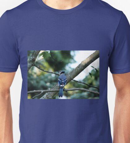 Singing The Blues - Blue Jay Unisex T-Shirt