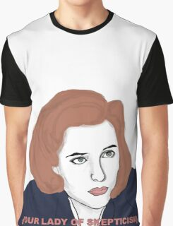 Our Lady of Skepticism  Graphic T-Shirt
