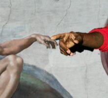 Kanye is a God  Sticker