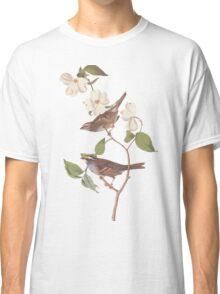 Audubon White Throated Sparrow Classic T-Shirt