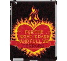 For the Night is Dark iPad Case/Skin