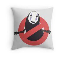 No No Face  Throw Pillow