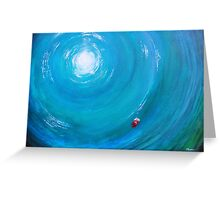 Lonely Ocean Greeting Card