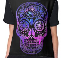Space Skull Chiffon Top