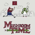 Mushroom Time by Creatiboom