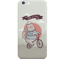 summer. bike. freedom iPhone Case/Skin