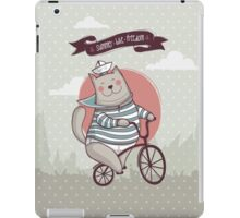 summer. bike. freedom iPad Case/Skin