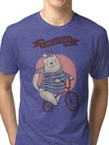 summer. bike. freedom Tri-blend T-Shirt