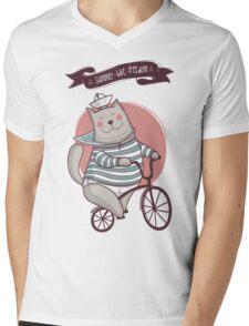 summer. bike. freedom Mens V-Neck T-Shirt
