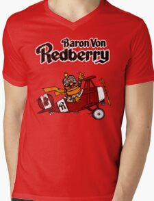 Baron Von Redberry Mens V-Neck T-Shirt