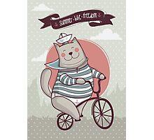 summer. bike. freedom Photographic Print