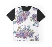 Vintage Flowers Graphic T-Shirt
