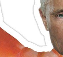 Shrimp Putin Sticker