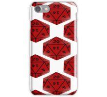 Geeky Dice iPhone Case/Skin