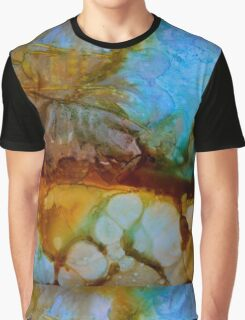 Abstract turquoise gemstone Graphic T-Shirt
