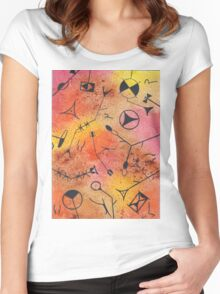 Tribute to Klee II  Women's Fitted Scoop T-Shirt