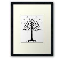 The White Tree of Gondor Framed Print