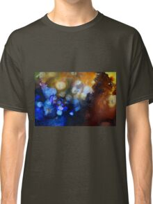 Abstract gemstone painting Classic T-Shirt