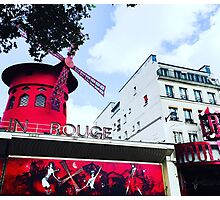Moulin Rouge Photographic Print