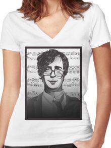 Ben Folds Women's Fitted V-Neck T-Shirt
