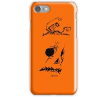 Pumpkinhead - Express Ya Face - Orange - Iphone iPhone Case/Skin