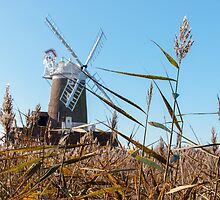 Cley Windmill by TomGreenPhotos