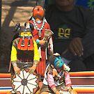 Santa Fe Indian Fair by Tamas Bakos