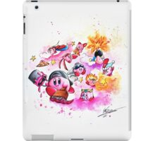 Kirby - Pink and Mighty  iPad Case/Skin