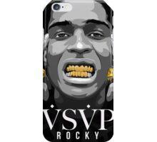 Gold Grills - ASAP Rocky Illustration iPhone Case/Skin