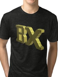 Bx Logo Light Yellow Tri-blend T-Shirt