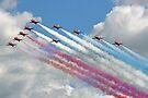 10 Arrow Big  Battle Formation - Farnborough 2014 by Colin  Williams Photography
