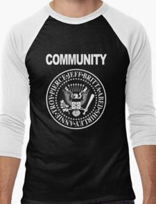 Community - Great Seal of the Study Group Men's Baseball ¾ T-Shirt