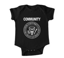 Community - Great Seal of the Study Group One Piece - Short Sleeve