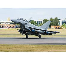 Typhoon Lands Photographic Print