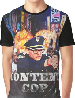 Content Cop - The Movie Graphic T-Shirt