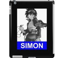 Simon Drill Anime Manga Shirt iPad Case/Skin