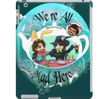 Musketeers Mad Tea Party iPad Case/Skin