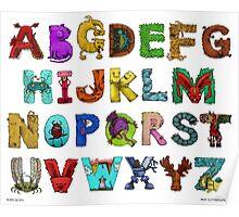 Alphabet Seven Poster