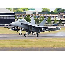 Super Hornet Lands Photographic Print
