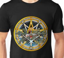 Sabbat Pentacle of the Winter Solstice/Yule Unisex T-Shirt