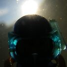 Backlit Diver by Shauna  Kosoris