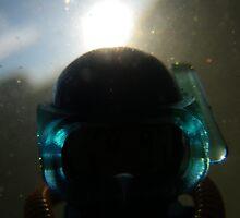 Backlit Diver by Shauna  Kosoris